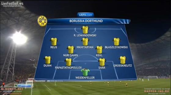 Défense décimée pour les Bavarois. Sans Hummels, Bender ou Subotic, le BVB titularise le jeune Sarr derrière. Un temps incertain, Sahin est finalement aligné.